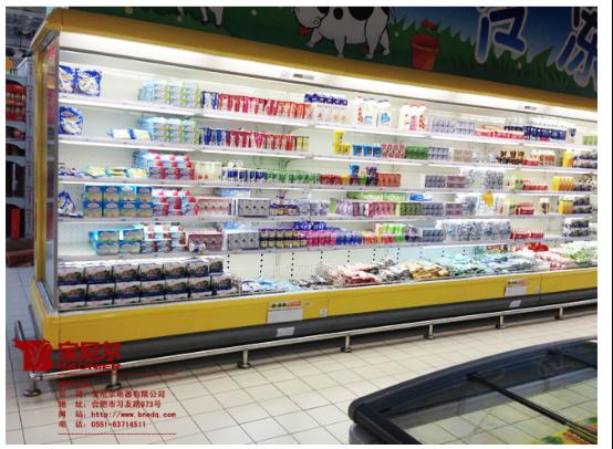 超市陈列柜使用原则